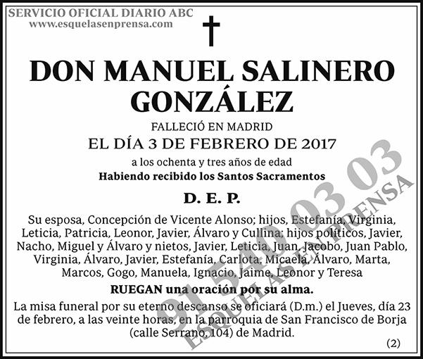 Manuel Salinero González